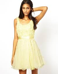 forever unique prom dress in yellow lyst