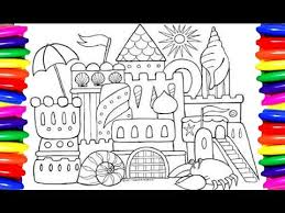 coloring book coloring pages disney princess royal castle