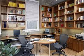 Home Office Library Design Ideas Modern Within With Regard To - Luxury home office design