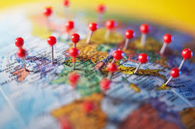 World Map Pins by Where In The World Is David Duffett Asterisk Community Director