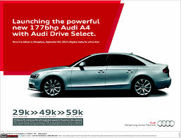 audi a4 gets 2 liter tdi engine with 177 bhp 380 nm team bhp