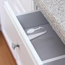 adhesive baby cabinet locks adhesive mount cabinet drawer lock