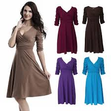 casual women summer evening cocktail party mini outdoor dress
