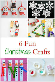 Holiday Crafts Pinterest - 6 fun christmas and holiday crafts for kids the write balance