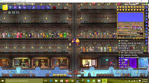 Terraria Map Download Terraria 1 3 All Items Map Download Youtube