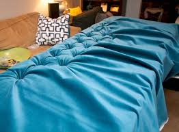 diy style on a budget how to make a tufted velvet headboard for