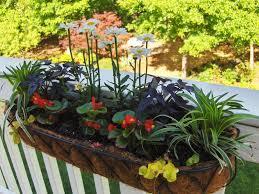 planters inspiring deck railing planter boxes deck rail planter