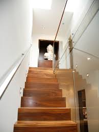 modern stair treads staircase eclectic with none beeyoutifullife com