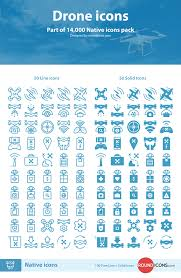 freebie drone icons ai sketch svg png iconjar codrops