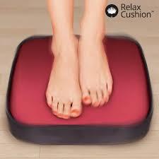 si e chauffant massant coussin massant et chauffant pour les pieds relax cushion achat