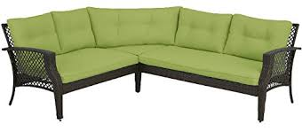 amazon com palermo 3pc outdoor patio furniture sectional
