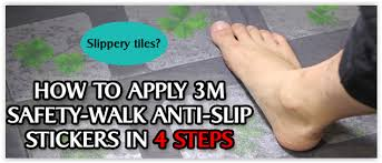 Anti Slip Stickers For Bathtub 3m Safety Walk Anti Slip Floor Stickers Clear
