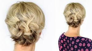 Hochsteckfrisurenen Mit Kurzen Haaren Zum Nachmachen by Hochsteckfrisuren Selber Machen 6 Einfache Anleitungen