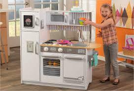cuisine kidkraft blanche cuisine enfant uptown blanche cuisine en bois jouet jouet cuisine