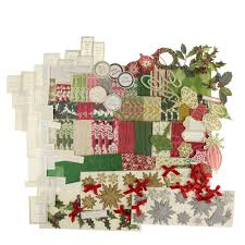 anna griffin 45 traditional christmas card kit u0026 storage box qvc uk