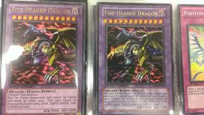 old five headed dragon vs new yugioh