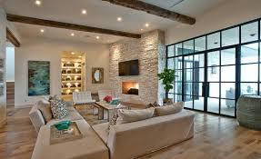 wohnzimmer ideen landhausstil modernes wohnzimmer landhausstil rustikal laminat boden
