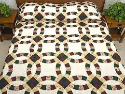 Wedding Ring Quilt by Double Wedding Ring Quilts U2013 Co Nnect Me