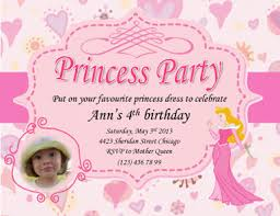 princess ann pink invite free invitation template by hloom com
