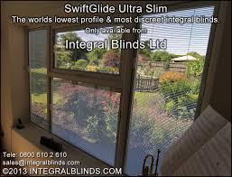 swiftglide ultraslim integral blinds