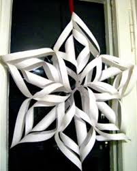 how to make a paper snowflake crafts craftbits