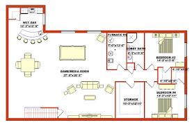 bungalow house plans with basement bungalow with basement house plans streamrr com