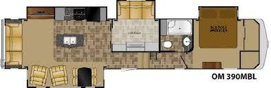 heartland 5th wheel floor plans new 2016 heartland oakmont 390mbl fifth wheel at olathe ford rv