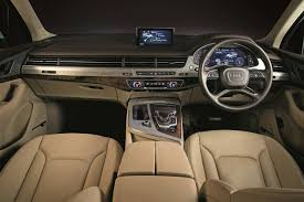 audi dashboard 2017 audi q7 design edition launched in india autobics