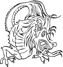 flying dragon coloring pages clipart panda free clipart images