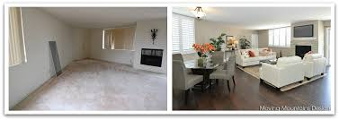 Staging Before And After by Belair Condo Living Room Before And After Photographs Moving