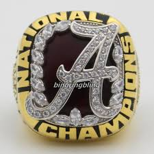 alabama class ring alabama crimson tide football 2009 national chionship rings