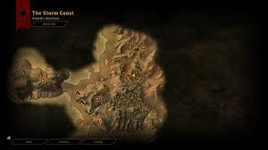 Dragon Age World Map by Dai How To Find The Materials For The Way Of The Tempest