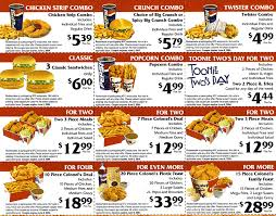 Kfc All You Can Eat Buffet by Kentucky Fried Chicken Menu And Prices Kfc Menu With Prices 2013