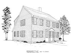 saltbox house plans colonial home cabin noticeable plan corglife
