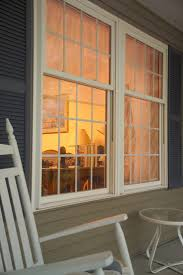 oriel style double hung windows in soft white http www gorell