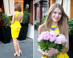 yellow dress for wedding pictures wedding guest style guide what to wear to a wedding