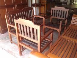 warehouse bench wooden sofa set jackwood lobby bench set chairs sri lanka