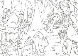 lion aslan coloring pages hellokids