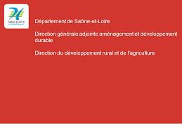 chambre agriculture saone et loire la politique agricole du département un atout pour la saône et