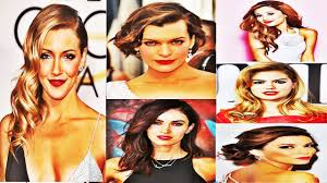latest celebrities awesome u0026 hairstyles 2017 youtube