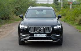 xc90 test drive 2016 volvo xc90 road test review gaadiwaadi com
