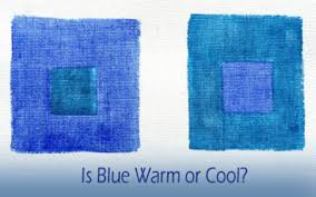is the temperature of blue warm or cool u2013 celebrating color