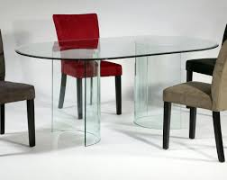 new all glass dining room table chintaly c base dt 4272 oval glass