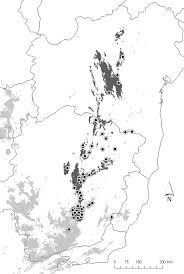 Mole Map As Aves Dos Campos Rupestres Da Cadeia Do Espinhaço Diversidade