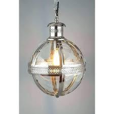 Glass Orb Pendant Light Sphere Pendant Light Globe Chandelier Lighting Globe