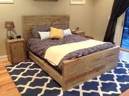 ergonomic bed frame with headboard and footboard brackets picture
