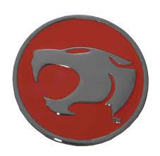 thundercats thundercats logo belt buckle