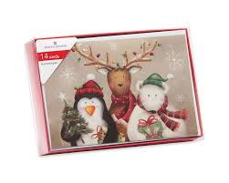 boxed cards winter friends christmas boxed cards 14 count american greetings
