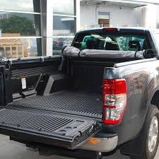 Ford Ranger Truck Bed Liner - ford ranger tonneau cover roll up no drill custom utes nz