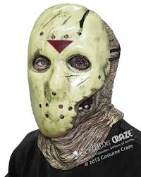 deluxe jason mask costume craze